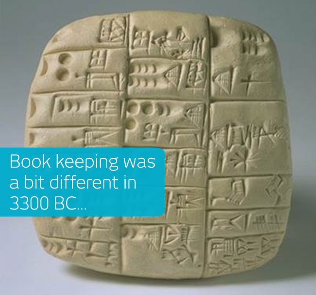 Stone book keeping